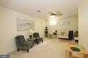 Lower room is enormous and private. - 11276 SILENTWOOD LN, RESTON