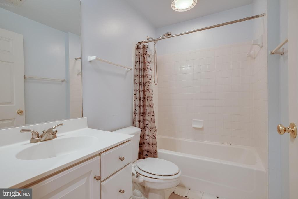 Lower Level Bath - 618 LINSLADE ST, GAITHERSBURG