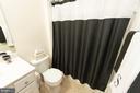 Upper Level Full Bath - 4 WELLSPRING DR, FREDERICKSBURG