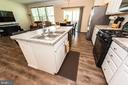Kitchen Island w Cabinet Space - 4 WELLSPRING DR, FREDERICKSBURG