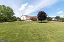 BACK YARD. 1.04 ACRE LOT. - 390 NANSFIELD DR, HARPERS FERRY