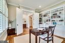 Beautiful built-in bookshelves - 8720 PLYMOUTH RD, ALEXANDRIA
