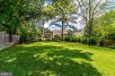 Private backyard - 8720 PLYMOUTH RD, ALEXANDRIA