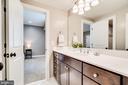 Full bath on lower level - 8720 PLYMOUTH RD, ALEXANDRIA
