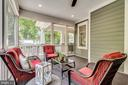 Screened in porch w/ recessed lights & fan - 8720 PLYMOUTH RD, ALEXANDRIA
