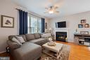 Gas Fireplace - 42919 SHELBOURNE SQ, CHANTILLY