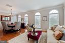Great Natural Light and Beautiful Crown Molding. - 42919 SHELBOURNE SQ, CHANTILLY