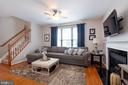 Cozy Family Room - 42919 SHELBOURNE SQ, CHANTILLY