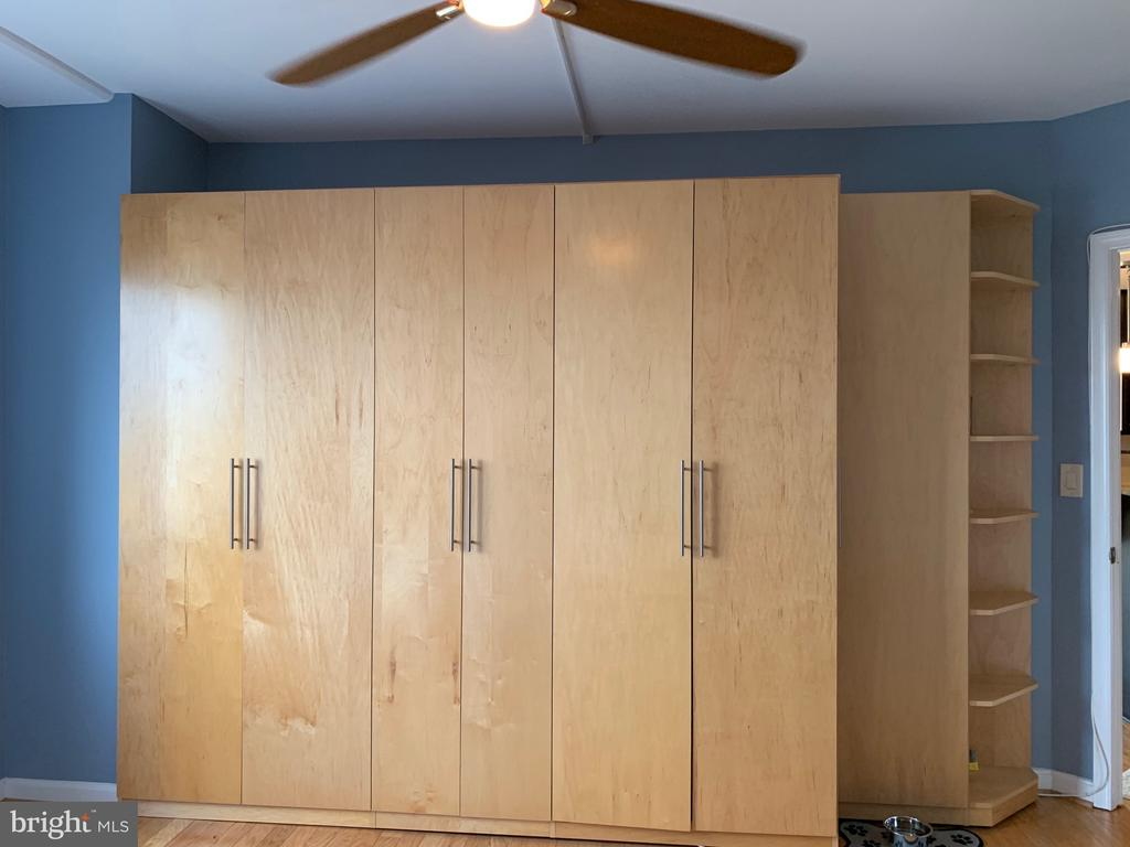 Built-In Wardrobe in Master Bedroom - 24 COURTHOUSE SQ #810, ROCKVILLE