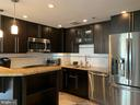 Renovated Kitchen with Stainless Steel Appliances - 24 COURTHOUSE SQ #810, ROCKVILLE