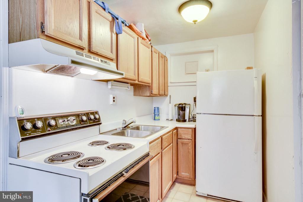 lower level kitchenette - 2718 FOX MILL RD, OAK HILL