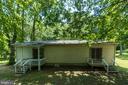 Back yard - deck off family room & deck off master - 6407 DEERSKIN DR, FREDERICKSBURG