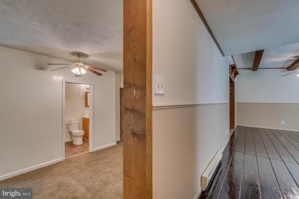 Master bedroom access off kitchen  or family rm - 6407 DEERSKIN DR, FREDERICKSBURG
