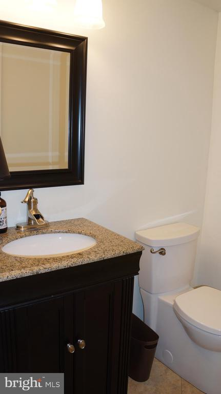 Remodeled powder room - 12 DUDLEY CT, STERLING