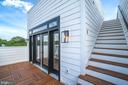 Sun deck off the kitchen & access to rooftop deck - 432 MANOR PL NW #2, WASHINGTON