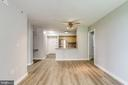 Living/DR combo - 1000 NEW JERSEY AVE SE #202, WASHINGTON