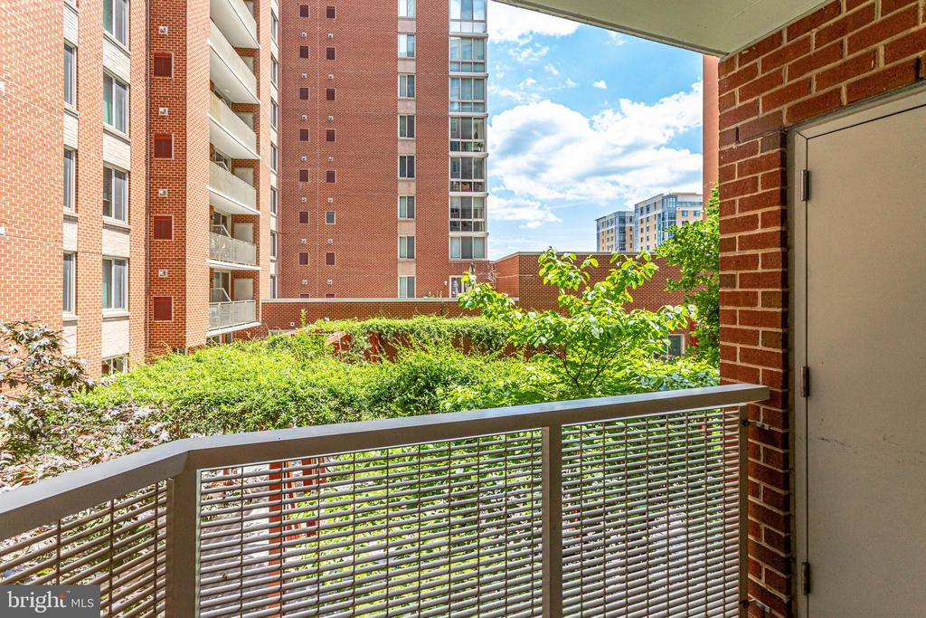 Views from your balcony - 1000 NEW JERSEY AVE SE #202, WASHINGTON