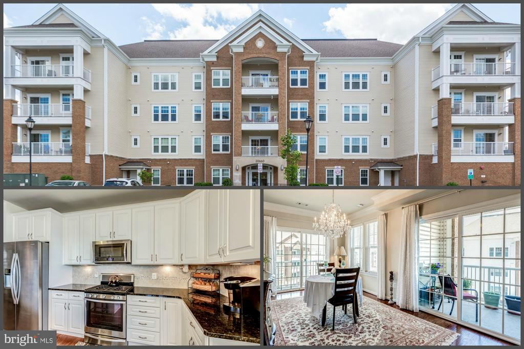 Top floor corner unit  w/ exceptional details - 20660 HOPE SPRING TER #407, ASHBURN