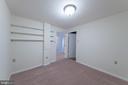 Bonus Room in Basement with Shelving - 10227 QUIET POND TER, BURKE