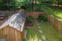 Fully Fenced & Landscaped Backyard - 10227 QUIET POND TER, BURKE