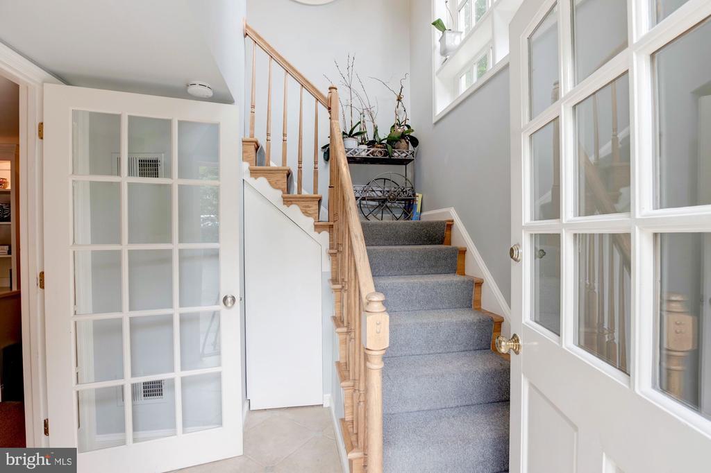 Secondary Entrance/Stair to Kitchen - 5212 UPTON TER NW, WASHINGTON