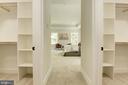 So much closet space~ - 8609 SEVEN LOCKS RD, BETHESDA