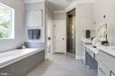 Owner's luxury  bath - 8609 SEVEN LOCKS RD, BETHESDA