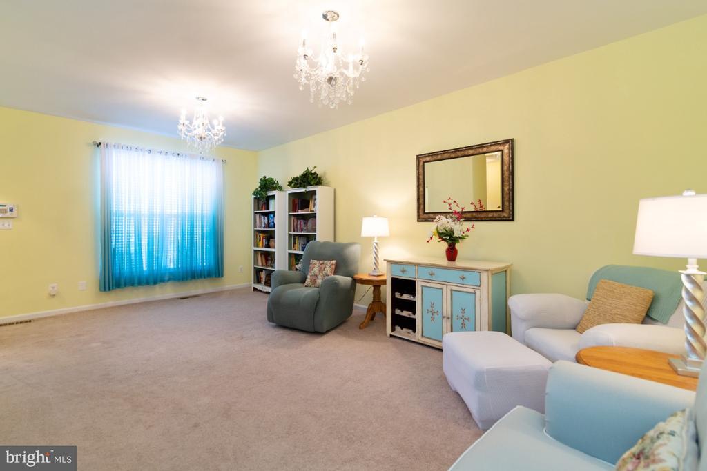 Living room - 100 MACON DR, STAFFORD