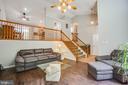 Living room - 120 CASCADE LN, FREDERICKSBURG