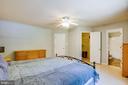 Owner's Suite w/walk in closet - 120 CASCADE LN, FREDERICKSBURG