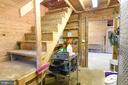 Feed Room and stairs to loft - 323 HARTWOOD RD, FREDERICKSBURG
