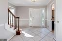 Spacious foyer - 3224 WILDMERE PL, HERNDON