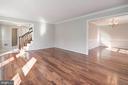 Living Room - 3224 WILDMERE PL, HERNDON