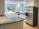 Kitchen, under cabinet lights, granite tops - 6641 KERNS RD, FALLS CHURCH