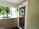 Front door - 10320 LURIA COMMONS CT #3 H, BURKE