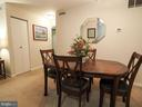 Dining room - 10320 LURIA COMMONS CT #3 H, BURKE