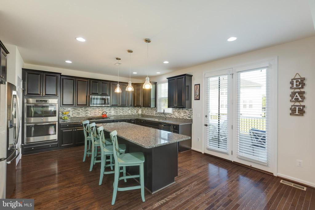 Upgraded kitchen with HUGE island - 40594 SCULPIN CT, ALDIE