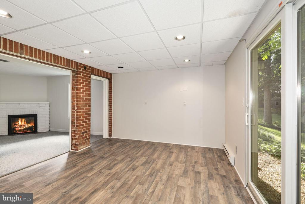 Spacious finished basement - 3311 OBERON ST, KENSINGTON
