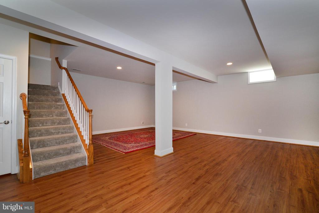 Lower level ready for all your entertainment needs - 42814 RAVENGLASS DR, ASHBURN