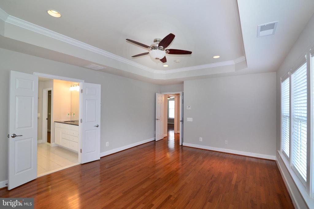Large master suite overlooking your backyard - 42814 RAVENGLASS DR, ASHBURN