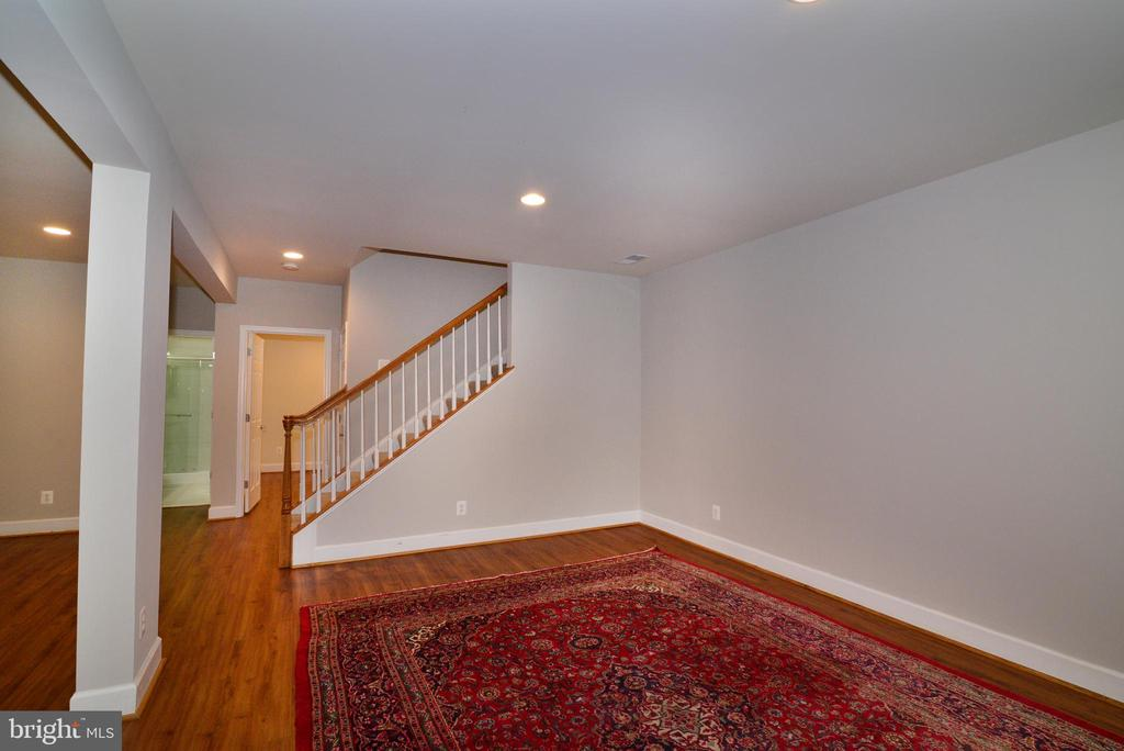 Great entertainment space in the lower level - 42814 RAVENGLASS DR, ASHBURN