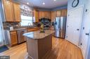 Granite counter tops with stainless steel - 144 PEBBLE BEACH DR, CHARLES TOWN