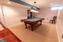 Pool table conveys - 144 PEBBLE BEACH DR, CHARLES TOWN