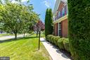 PATH LEADS TO THE FRONT DOOR - 42345 ASTORS BEACHWOOD CT, CHANTILLY
