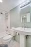 Glass tiles floor to ceiling - 2939 VAN NESS ST NW #1017, WASHINGTON