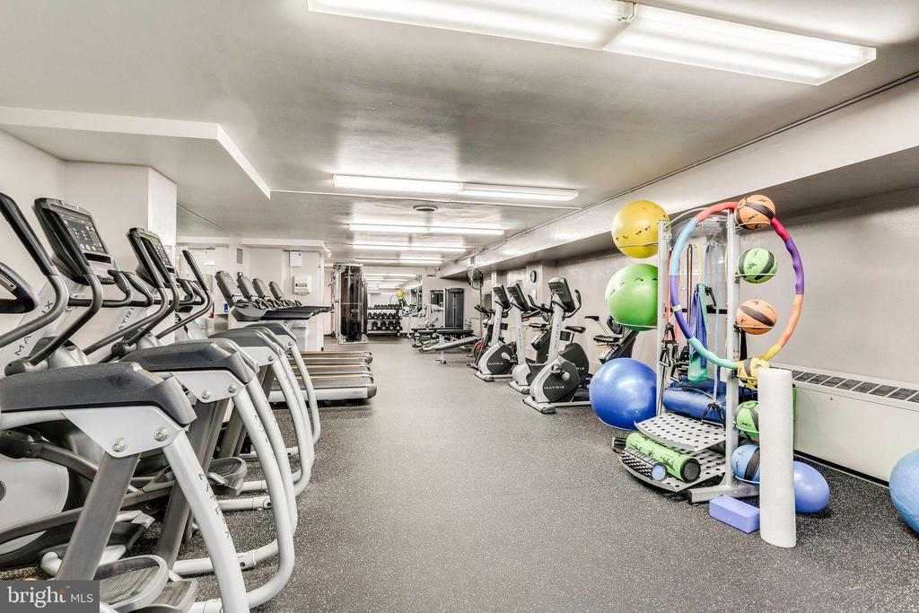 Exercise Room - 2939 VAN NESS ST NW #1017, WASHINGTON
