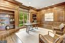 The Study - 8313 PERSIMMON TREE RD, BETHESDA