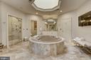 Master Bathroom - 8313 PERSIMMON TREE RD, BETHESDA