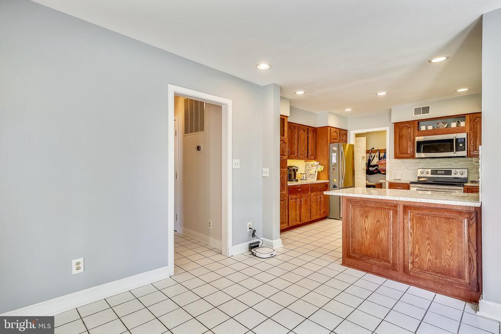 Recessed lighting in kitchen area. - 4103 FAITH CT, ALEXANDRIA
