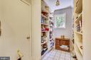 Pantry to store extra dry goods. - 4103 FAITH CT, ALEXANDRIA